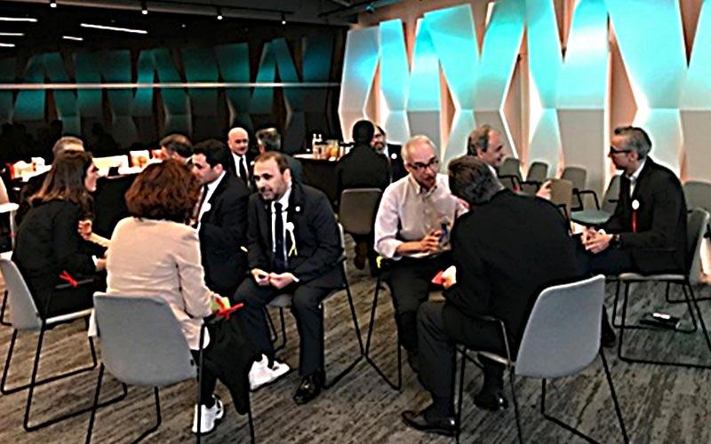"""Desayuno exclusivo para los miembros de la Plataforma Empresas por la Movilidad Sostenible con un """"speed dating"""""""