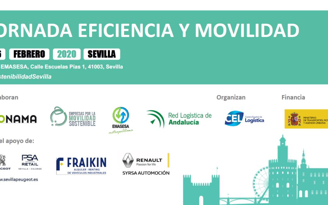 Jornada Eficiencia y Movilidad – Sevilla, 26 de Febrero de 2020 –