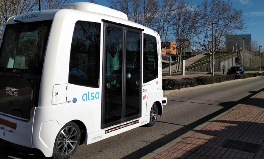 El primer autobús autónomo en España llega de la mano de ALSA