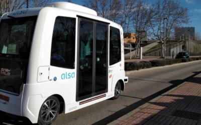 El primer bus autónomo en España sin conductor llega de la mano de ALSA