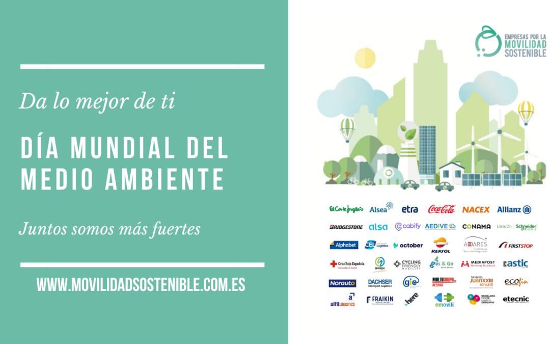 35 organizaciones unidas por la movilidad sostenible