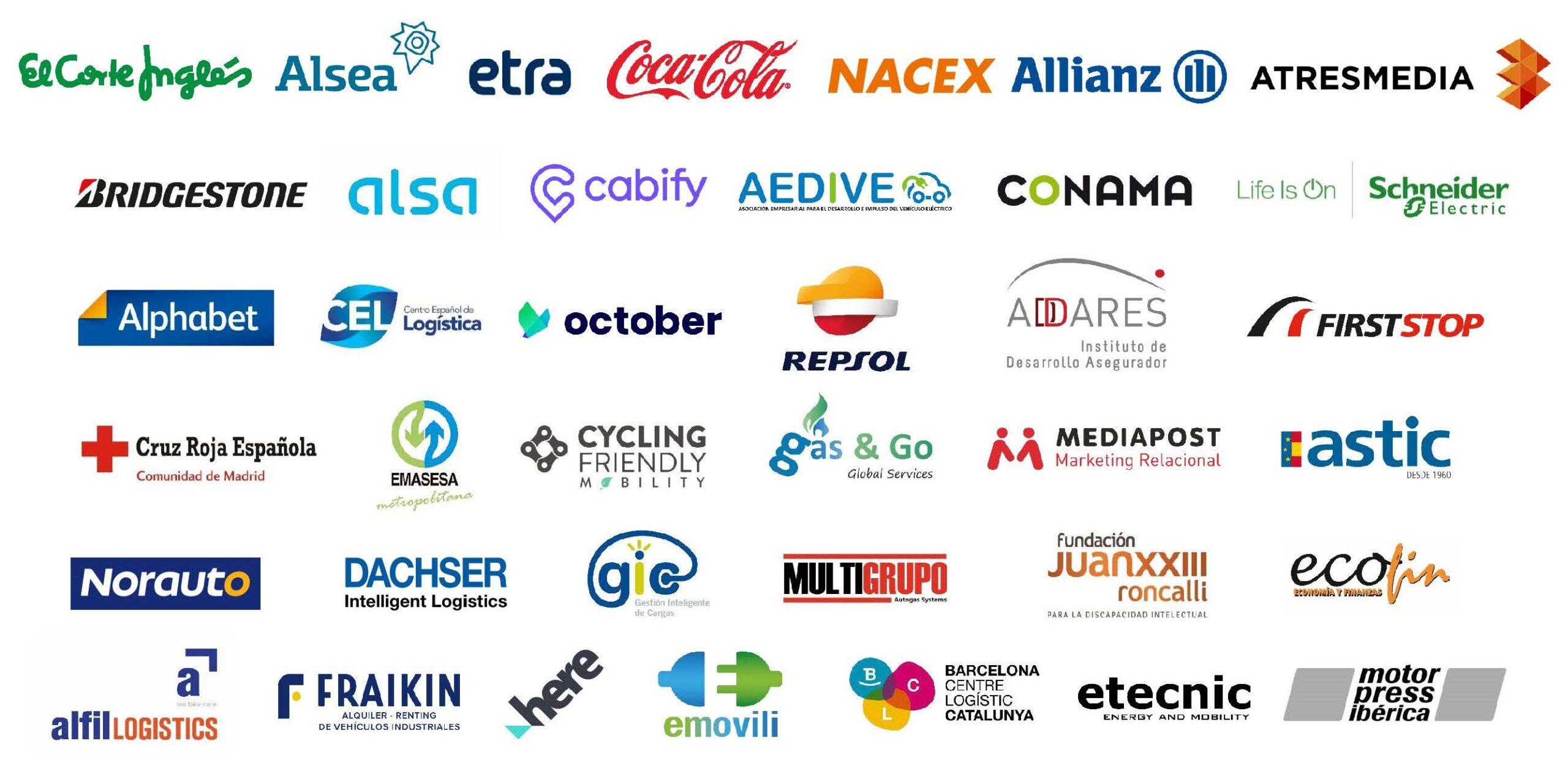 miembros empresas por la movilidad sostenible