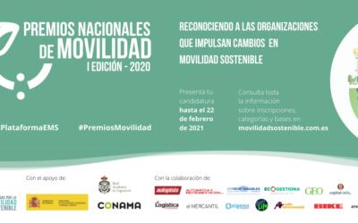 Nacen los Premios Nacionales de Movilidad