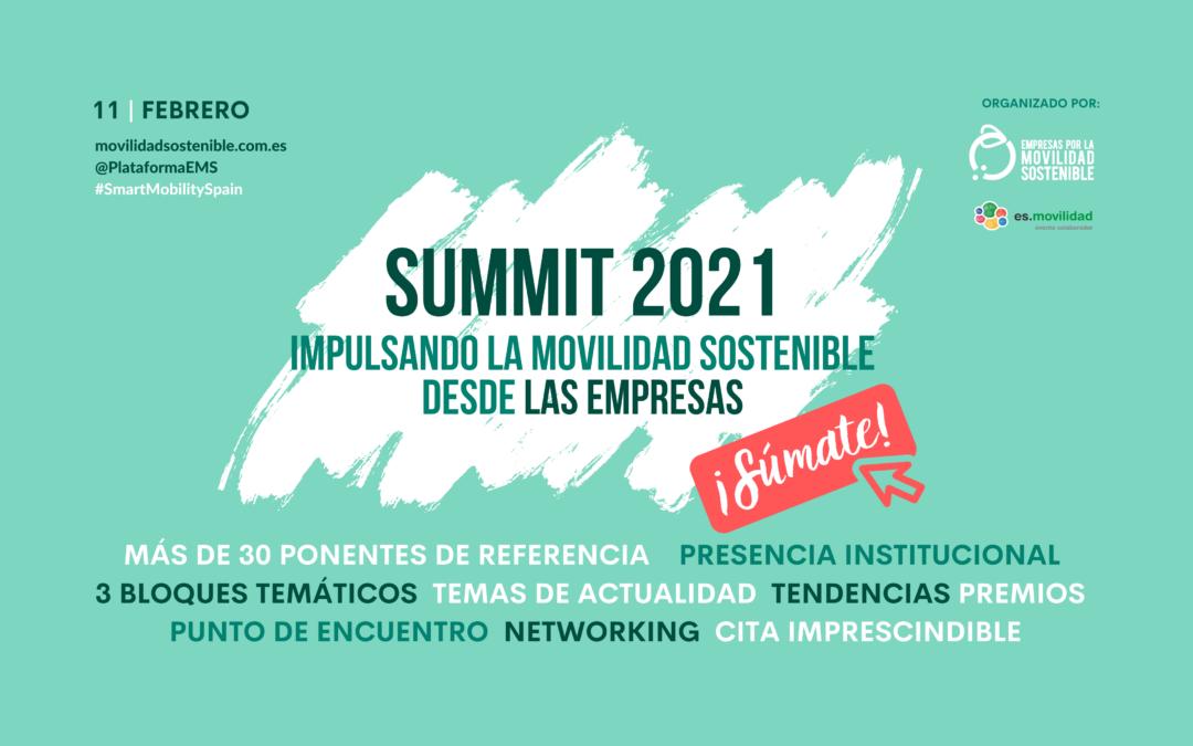 ¡Seguimos desvelando el programa de nuestro SUMMIT 2021!