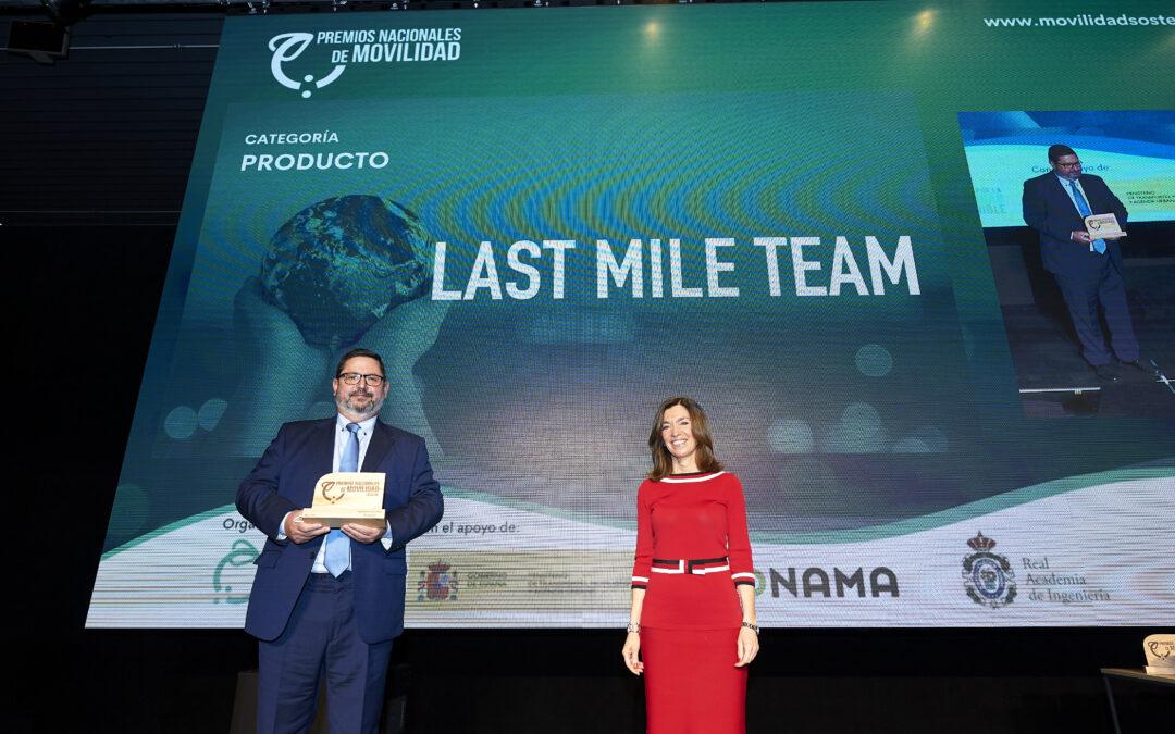 Conoce la Plataforma Digital para la Última Milla de Last Mile Team, ganadora del Premio Nacional de Movilidad en la categoría 'Producto'