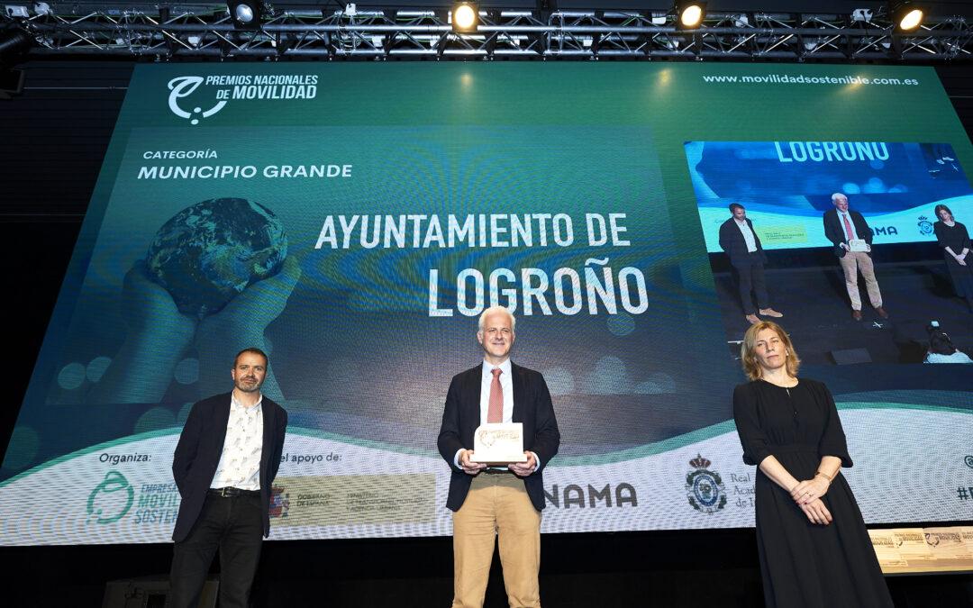 Conoce el proyecto del Ayuntamiento de Logroño que ha ganado el Premio Nacional de Movilidad en la categoría 'Municipio Grande'