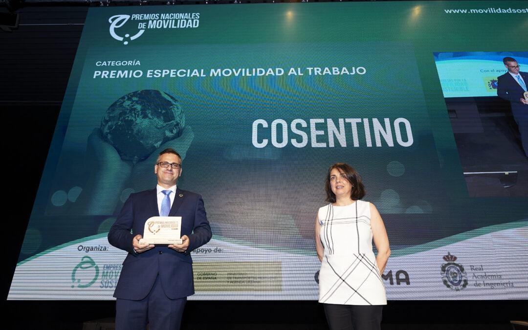 Conoce el Plan de Movilidad Empresarial de Cosentino, ganador del Premio Nacional de Movilidad en la categoría 'Movilidad al trabajo'