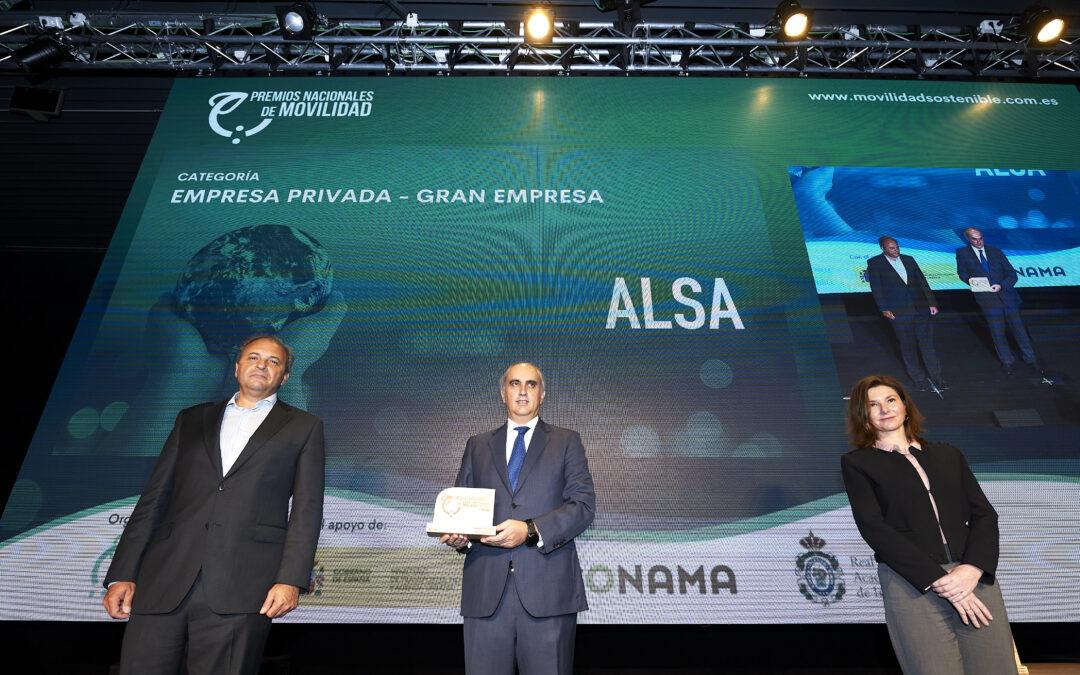 Conoce la Estrategia de Sostenibilidad Medioambiental de Alsa, ganadora del Premio Nacional de Movilidad en la categoría 'Gran Empresa'