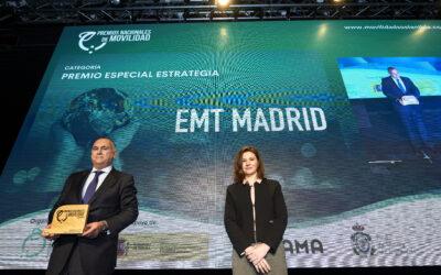 Conoce Madrid Mobility 360 de EMT Madrid, ganadora del 'Premio Especial Estrategia' en los Premios Nacionales de Movilidad